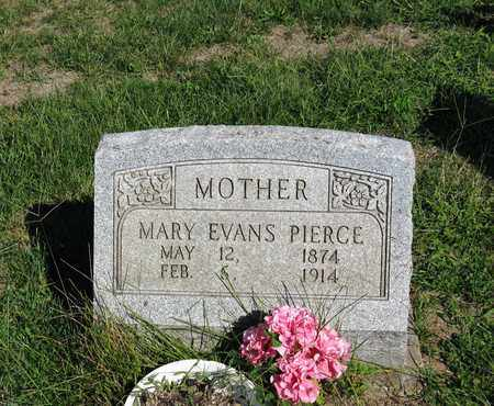 EVANS PIERCE, MARY - Vinton County, Ohio | MARY EVANS PIERCE - Ohio Gravestone Photos
