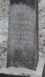 PIERCE, WILLIAM - Vinton County, Ohio   WILLIAM PIERCE - Ohio Gravestone Photos