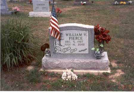 PIERCE, WILLIAM V. - Vinton County, Ohio | WILLIAM V. PIERCE - Ohio Gravestone Photos