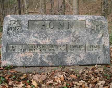 PONN, EDWARD - Vinton County, Ohio | EDWARD PONN - Ohio Gravestone Photos