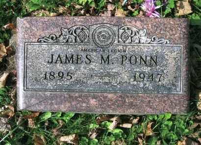PONN, JAMES M. - Vinton County, Ohio | JAMES M. PONN - Ohio Gravestone Photos