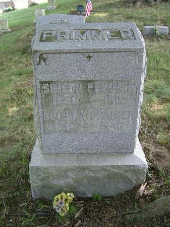 PRIMMER, SIMEON - Vinton County, Ohio | SIMEON PRIMMER - Ohio Gravestone Photos