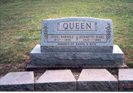 BARNES QUEEN, VIVA - Vinton County, Ohio | VIVA BARNES QUEEN - Ohio Gravestone Photos