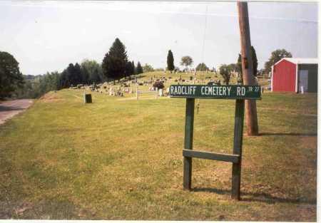 RADCLIFF, CEMETERY - Vinton County, Ohio   CEMETERY RADCLIFF - Ohio Gravestone Photos