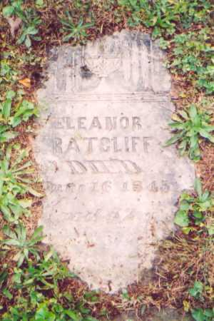 DIXON RATCLIFF, ELEANOR - Vinton County, Ohio | ELEANOR DIXON RATCLIFF - Ohio Gravestone Photos