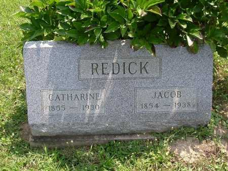 REDICK, JACOB - Vinton County, Ohio | JACOB REDICK - Ohio Gravestone Photos