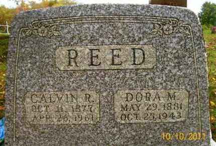REED, DORA M. - Vinton County, Ohio | DORA M. REED - Ohio Gravestone Photos