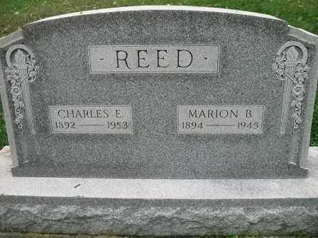 REED, CHARLES E. - Vinton County, Ohio | CHARLES E. REED - Ohio Gravestone Photos