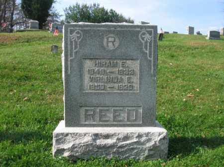 REED, HIRAM E. - Vinton County, Ohio | HIRAM E. REED - Ohio Gravestone Photos