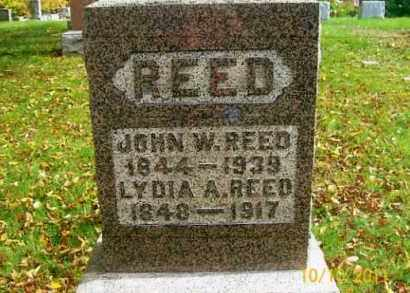 REED, LYDIA A. - Vinton County, Ohio | LYDIA A. REED - Ohio Gravestone Photos