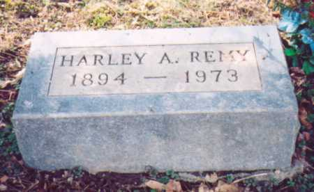 REMY, HARLEY A. - Vinton County, Ohio | HARLEY A. REMY - Ohio Gravestone Photos