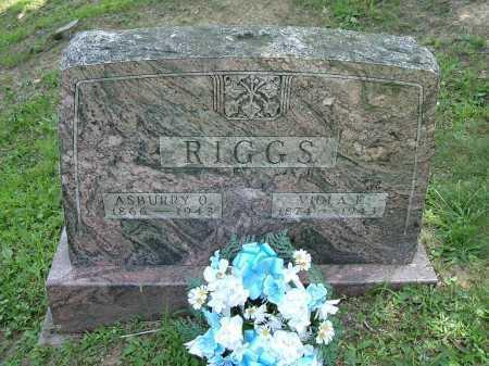 RIGGS, ASBURY ORLANDO - Vinton County, Ohio | ASBURY ORLANDO RIGGS - Ohio Gravestone Photos