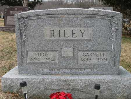 "LONG RILEY, EDWARD ""EDDIE"" AND GARNETT - Vinton County, Ohio 