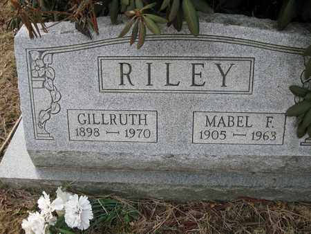 RILEY, GILLRUTH - Vinton County, Ohio | GILLRUTH RILEY - Ohio Gravestone Photos