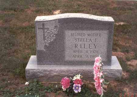 RILEY, STELLA E. - Vinton County, Ohio | STELLA E. RILEY - Ohio Gravestone Photos