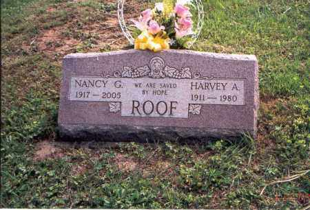 ROOF, HARVEY A. - Vinton County, Ohio | HARVEY A. ROOF - Ohio Gravestone Photos