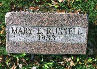 EWING RUSSELL, MARY - Vinton County, Ohio | MARY EWING RUSSELL - Ohio Gravestone Photos
