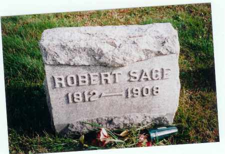 SAGE, ROBERT - Vinton County, Ohio | ROBERT SAGE - Ohio Gravestone Photos