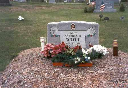 SCOTT, ANTHONY H. - Vinton County, Ohio | ANTHONY H. SCOTT - Ohio Gravestone Photos