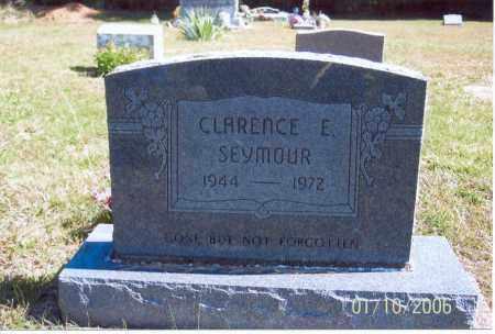 SEYMOUR, CLARENCE E. - Vinton County, Ohio | CLARENCE E. SEYMOUR - Ohio Gravestone Photos