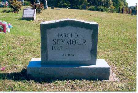 SEYMOUR, HAROLD L. - Vinton County, Ohio | HAROLD L. SEYMOUR - Ohio Gravestone Photos