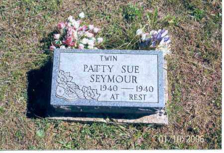 SEYMOUR, PATTY SUE - Vinton County, Ohio | PATTY SUE SEYMOUR - Ohio Gravestone Photos