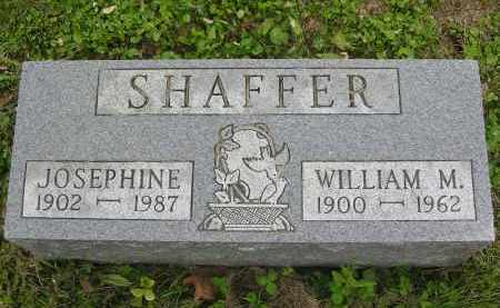 SHAFFER, WILLIAM MCKINLEY - Vinton County, Ohio | WILLIAM MCKINLEY SHAFFER - Ohio Gravestone Photos