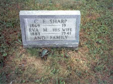 GOOD SHARP, EVA M. - Vinton County, Ohio | EVA M. GOOD SHARP - Ohio Gravestone Photos