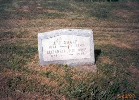 GRAHAM SHARP, ELIZABETH - Vinton County, Ohio | ELIZABETH GRAHAM SHARP - Ohio Gravestone Photos