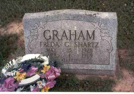 GRAHAM SHARTZ, FREDA G. - Vinton County, Ohio | FREDA G. GRAHAM SHARTZ - Ohio Gravestone Photos