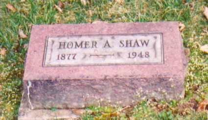 SHAW, HOMER A. - Vinton County, Ohio | HOMER A. SHAW - Ohio Gravestone Photos