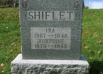 SHIFLET, JOSEPHINE - Vinton County, Ohio | JOSEPHINE SHIFLET - Ohio Gravestone Photos