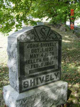 SHIVELY, JOHN - Vinton County, Ohio | JOHN SHIVELY - Ohio Gravestone Photos
