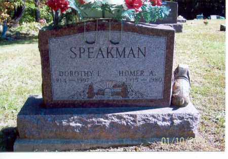 SPEAKMAN, DOROTHY I. - Vinton County, Ohio | DOROTHY I. SPEAKMAN - Ohio Gravestone Photos