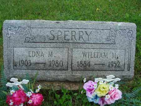 SPERRY, WILLIAM MADISON - Vinton County, Ohio | WILLIAM MADISON SPERRY - Ohio Gravestone Photos