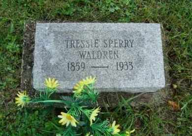 SPERRY, TRESSIE - Vinton County, Ohio | TRESSIE SPERRY - Ohio Gravestone Photos