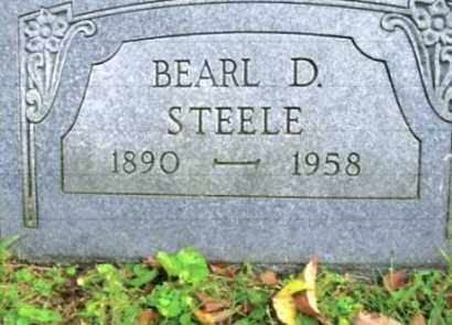 STEELE, BEARL D. - Vinton County, Ohio | BEARL D. STEELE - Ohio Gravestone Photos