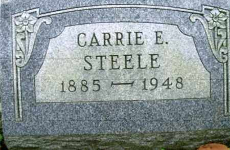 THOMPSON STEELE, CARRIE ELIZABETH - Vinton County, Ohio | CARRIE ELIZABETH THOMPSON STEELE - Ohio Gravestone Photos