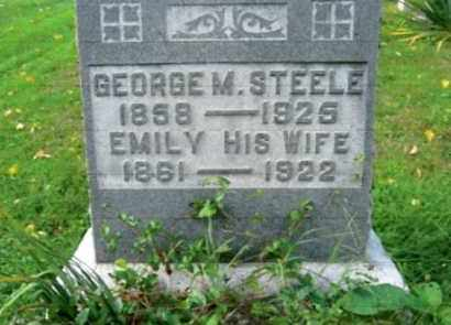 STEELE, GEORGE MARTIN - Vinton County, Ohio | GEORGE MARTIN STEELE - Ohio Gravestone Photos