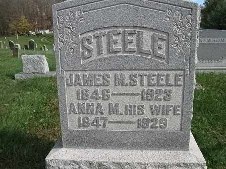 STEELE, ANNA M.. - Vinton County, Ohio | ANNA M.. STEELE - Ohio Gravestone Photos