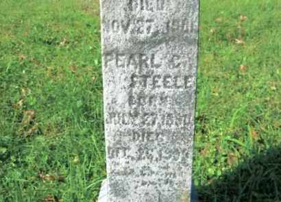 STEELE, PEARL C. - Vinton County, Ohio | PEARL C. STEELE - Ohio Gravestone Photos