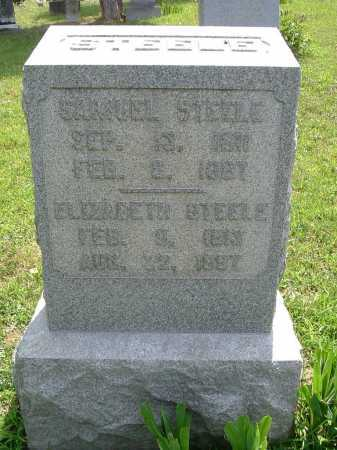 STEELE, SAMUEL - Vinton County, Ohio | SAMUEL STEELE - Ohio Gravestone Photos