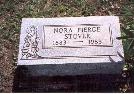 PIERCE STOVER, NORA - Vinton County, Ohio | NORA PIERCE STOVER - Ohio Gravestone Photos