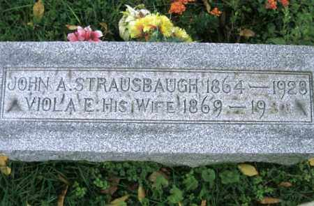 STRAUSBAUGH, VIOLA E. - Vinton County, Ohio | VIOLA E. STRAUSBAUGH - Ohio Gravestone Photos