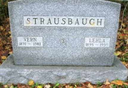 STRAUSBAUGH, LEHLA - Vinton County, Ohio | LEHLA STRAUSBAUGH - Ohio Gravestone Photos