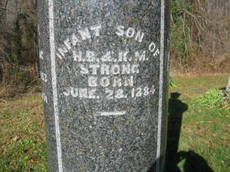 STRONG, INFANT SON - Vinton County, Ohio | INFANT SON STRONG - Ohio Gravestone Photos