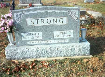 STRONG, JOSEPH E. - Vinton County, Ohio | JOSEPH E. STRONG - Ohio Gravestone Photos
