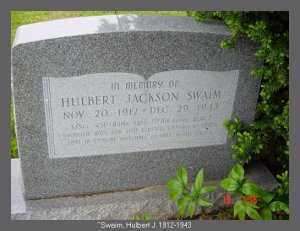 SWAIM, HULBERT JACKSON - Vinton County, Ohio | HULBERT JACKSON SWAIM - Ohio Gravestone Photos