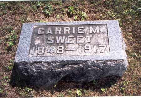 SWEET, CARRIE M. - Vinton County, Ohio | CARRIE M. SWEET - Ohio Gravestone Photos