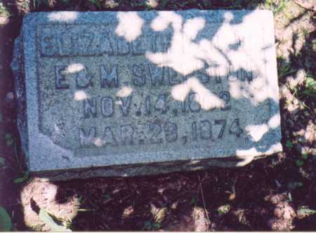 SWEPSTON, ELIZABETH - Vinton County, Ohio | ELIZABETH SWEPSTON - Ohio Gravestone Photos